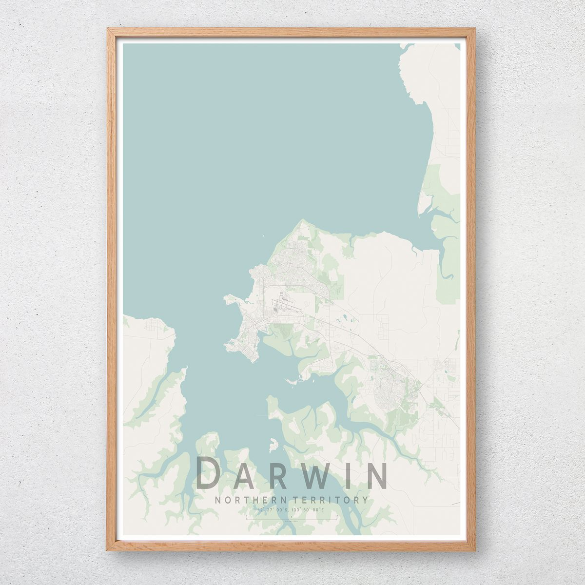 Darwin Map Of Australia.Details About Darwin Map Print Australia Wall Art Poster City Map Wall Decor A3 A2 A1
