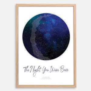 Custom Star Map Print
