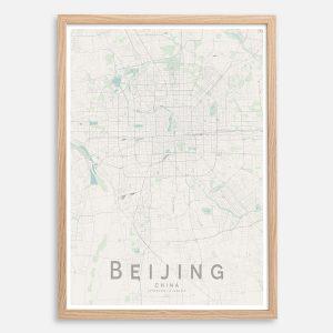 Beijing Map Print