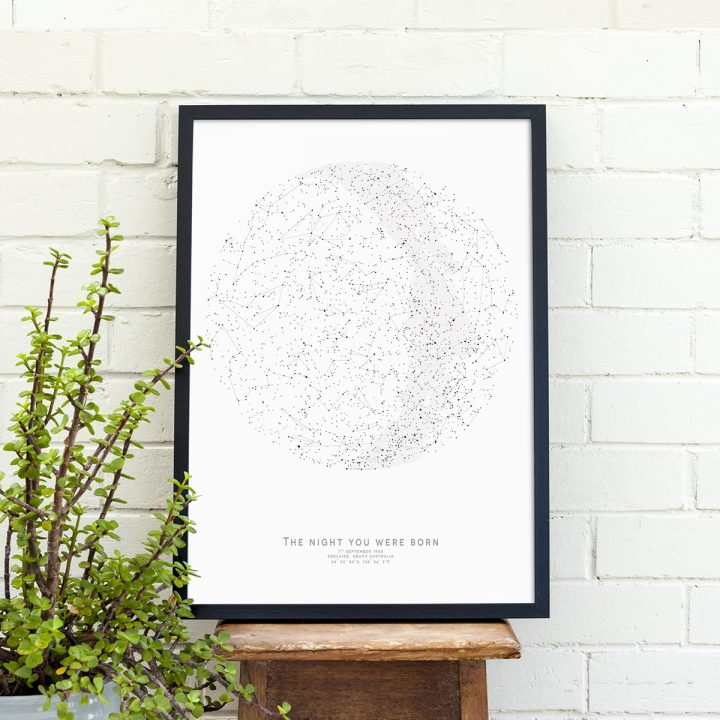 Custom Star Map Print