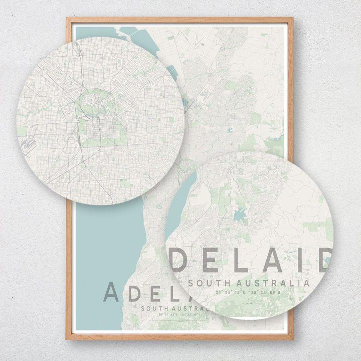 Adelaide Map Print