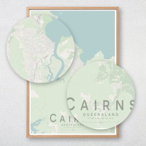 Cairns Map Print