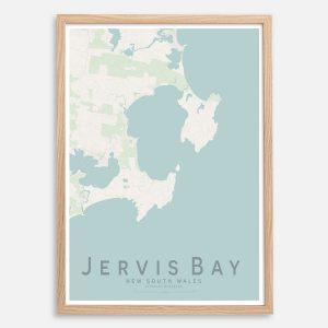 Jervis Bay Map Print