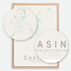 Casino Map Print
