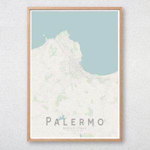 Palermo Map Print