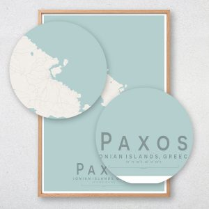 Paxos Map Print