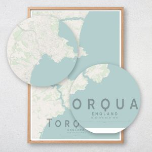 Torquay Map Print