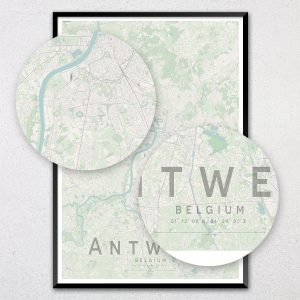 Antwerp Map Print