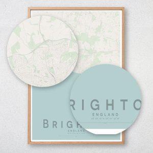 Brighton Map Print