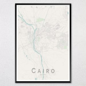 Cairo Map Print