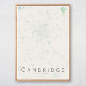 Cambridge Map Print
