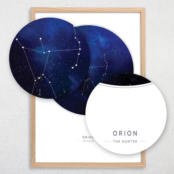 Orion Constellation Print