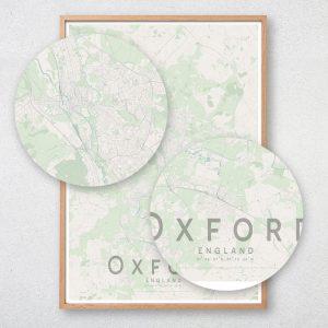 Oxford Map Print