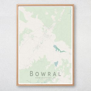 Bowral Map Print