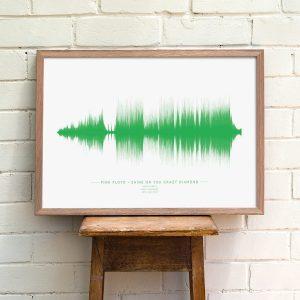 Custom Soundwave Print
