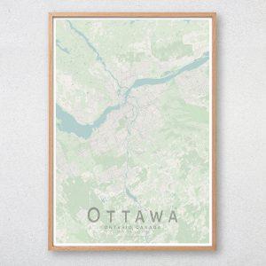 Ottawa Map Print