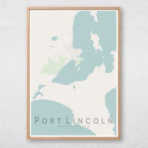 Port Lincoln Map Print
